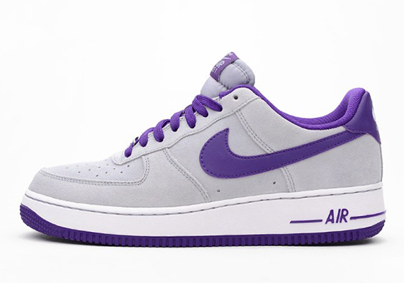 nike air force 1 low white purple