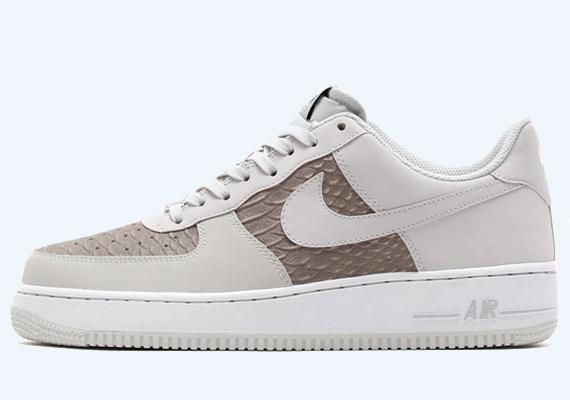 Nike Air Force 1 Low - Blanc / Gris Python