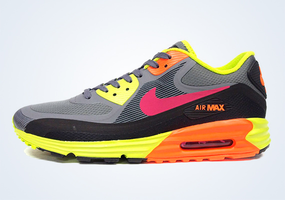Venta anticipada Reina jamón  Nike Air Max Lunar90 WR - Grey - Volt - Orange - SneakerNews.com