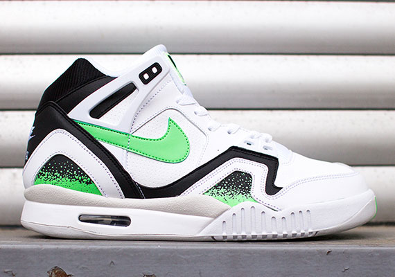 nike air tech challenge ii 毒液绿