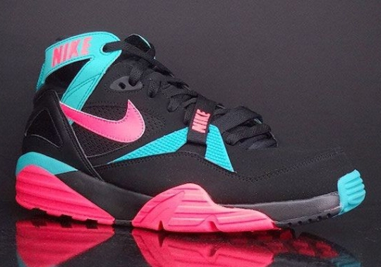 Nike Air Trainer Max '91 – Black – Hyper Jade – Hyper Punch