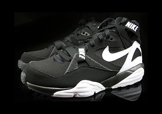 Black And White Bo Jackson Shoes