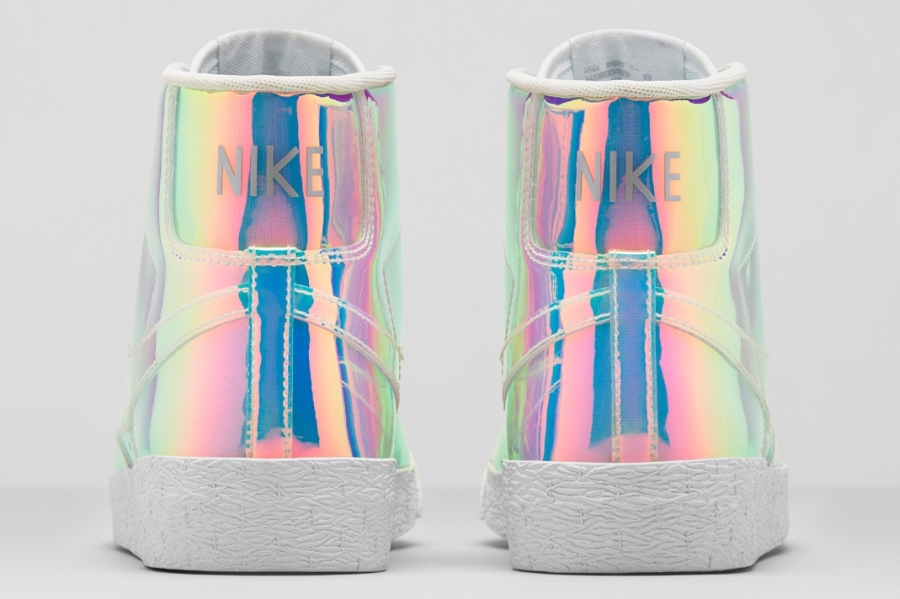 Nike Women S Blazer Mid Quot Iridescent Quot Sneakernews Com