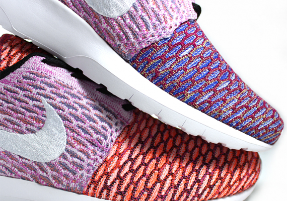 You've see plenty of the Nike Roshe Run Flyknit in those tamer color  schemes right here on Sneaker News, but you've probably not seen too much  of the wilder ...