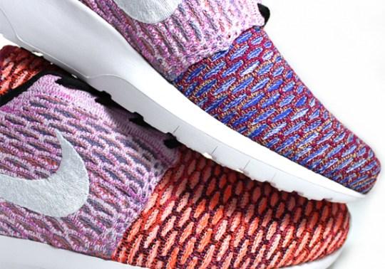 "The Story Behind The Nike Flyknit Roshe Run ""Random Yarn Color"""