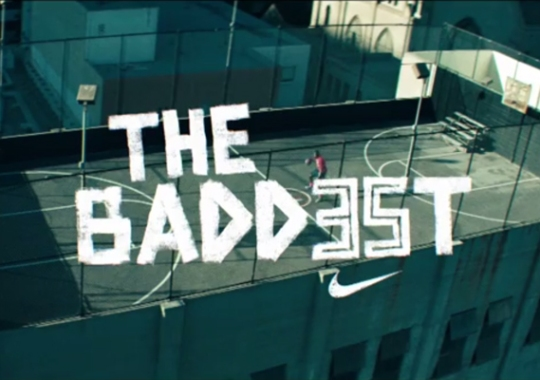 Foot Locker x Nike Present The BADD35T Featuring Kevin Durant