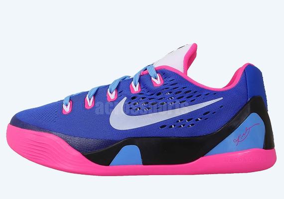 Nike Kobe 9 EM GS Hyper Pink White Hyper Cobalt
