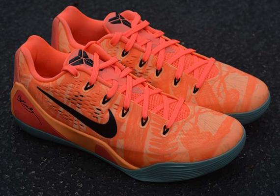 Nike Kobe 9 EM Peach Cream Bright Mango Medium Mint