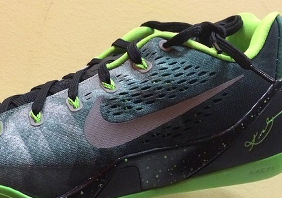 9725ab86696b Nike Kobe 9 EM Premium – Gorge Green – Metallic Silver – Electric Green