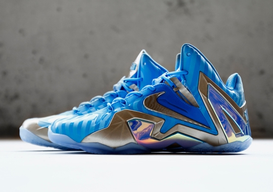 "Nike LeBron 11 Elite ""Blue 3M"" Releasing Soon"