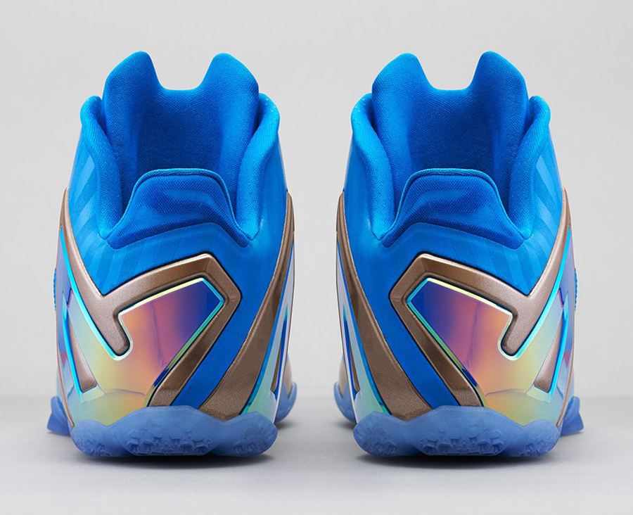 "quality design b92f7 c7cf4 Nike LeBron 11 Low ""Maison Du LeBron"" Color  Metallic Zinc Hyper Punch-Ice  Style Code  683256-064. Release Date  08 23 14. Price   190"