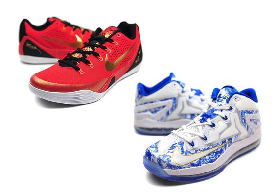 aa23afaf3d6b Nike LeBron 11 + Kobe 9