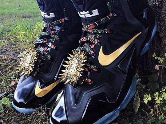 "Nike LeBron 11 ""Watch The Throne"" by Mache Customs"