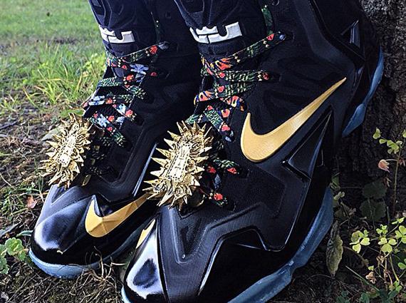 "Nike LeBron 11 ""Watch The Throne"" by Mache Customs ..."
