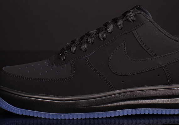 nike air force lunar black