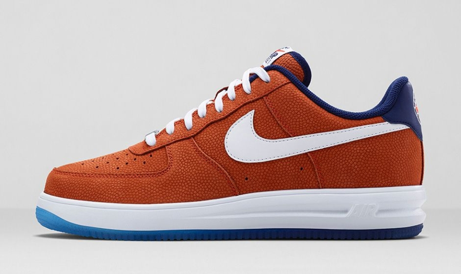 "newest collection 34702 8f356 Nike Lunar Force 1 ""World Basketball Festival"" Color  Team Orange Loyal  Blue-White Style Code  704009-800. Release Date  08 14 14. Price   125"