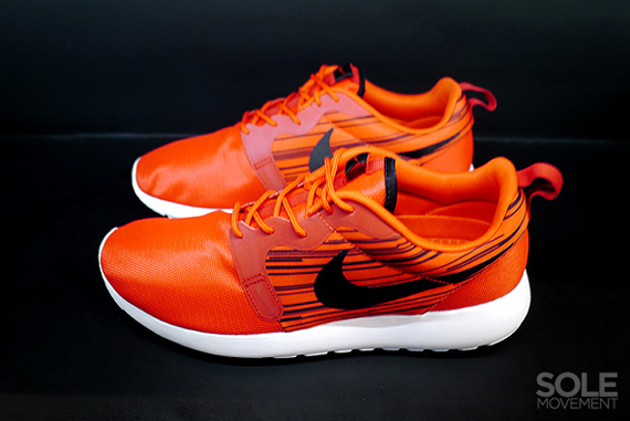 Nike Roshe Exécuter Hyperfuse Rouge Atomique