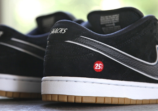 "Nike SB Dunk Low ""Quartersnacks"" – Release Date"