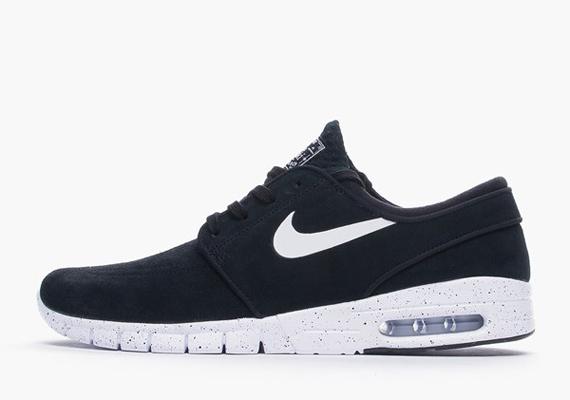 Nike Janoski Max Black Suede