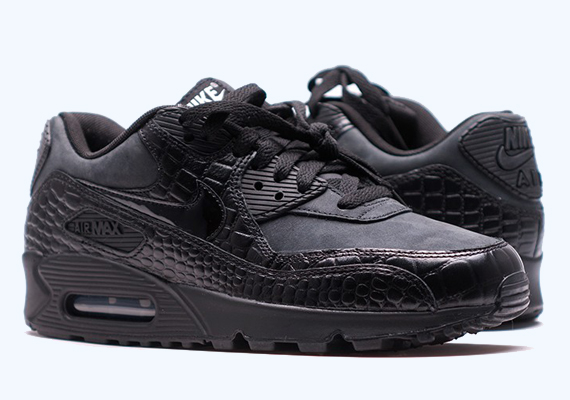 black black air max