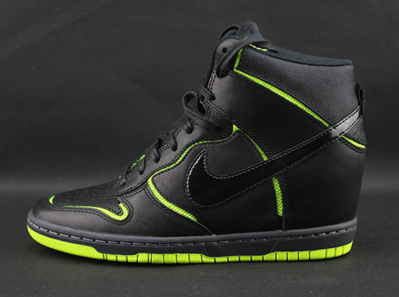It s been a while since we ve seen the Nike WMNS Dunk Sky Hi in a cut-out  iteration 5892b63ef
