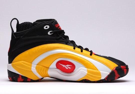 Reebok Shaqnosis – Black – Yellow – Red