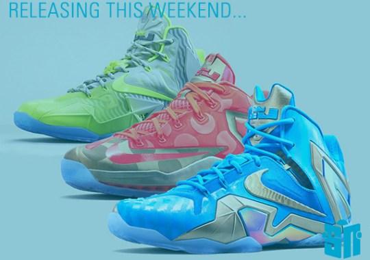Sneakers Releasing This Weekend – August 23rd, 2014
