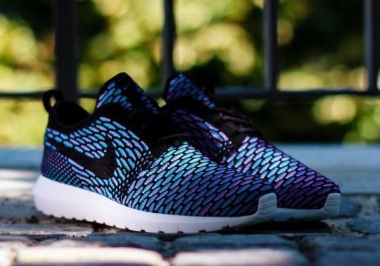 "Nike Flyknit Roshe Run ""Black"" + ""Neo Turquoise"" – Releasing Tomorrow in Europe"