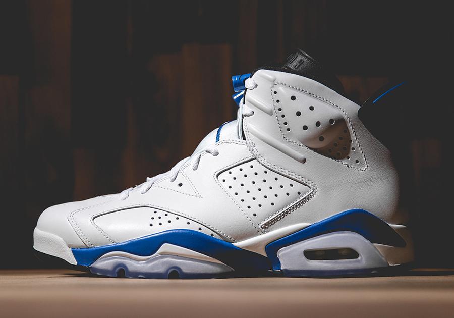 af792ee255c Air Jordan VI  Sport Blue  - SneakerNews.com