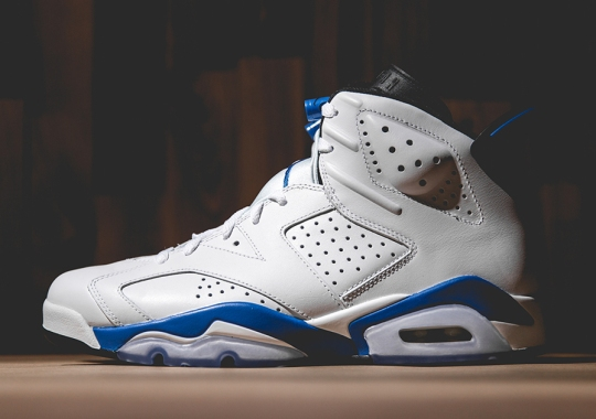 "Air Jordan 6 ""Sport Blue"" – Arriving at Retailers"