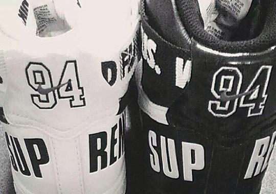 Supreme x Nike Air Force 1 High – Teaser