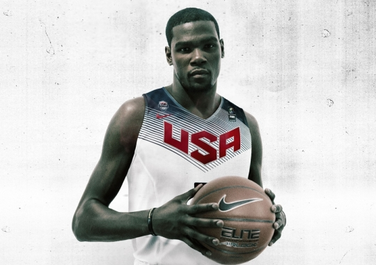 Nike Basketball Unveils 2014 USA Uniforms
