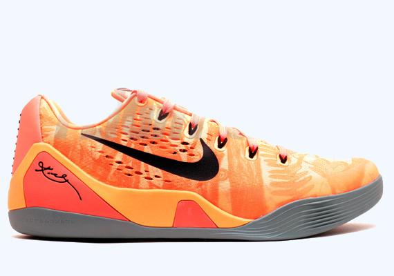 53eb1419d25e Kobe Bryant s ninth is still getting busy. CONTINUE TO  Nike Kobe 9 EM – Peach  Cream – Bright Mango – Cannon – Medium Mint