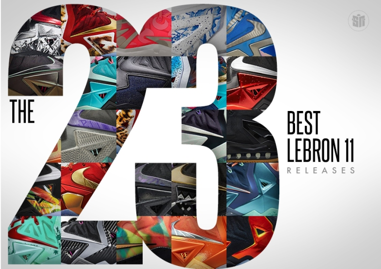 38a205ca915 The 23 Best LeBron 11 Releases - SneakerNews.com