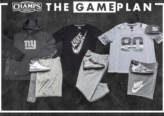 """The Game Plan"" by Champs Sports: Nike NFL Platinum Collection"