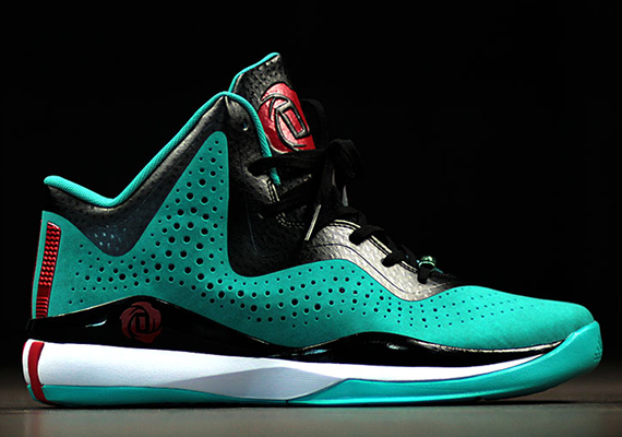 22047f74696 adidas D Rose 773 III - Turquoise - Red - SneakerNews.com