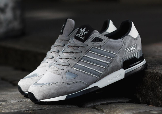 brand new dd71e 2b2c5 adidas Originals ZX 750 - Silver - Black - SneakerNews.com