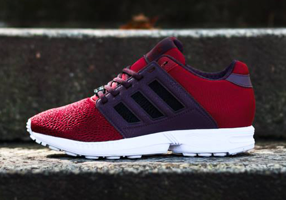 best service 83a75 2a330 adidas Originals ZX Flux 2.0 – Burgundy – Red