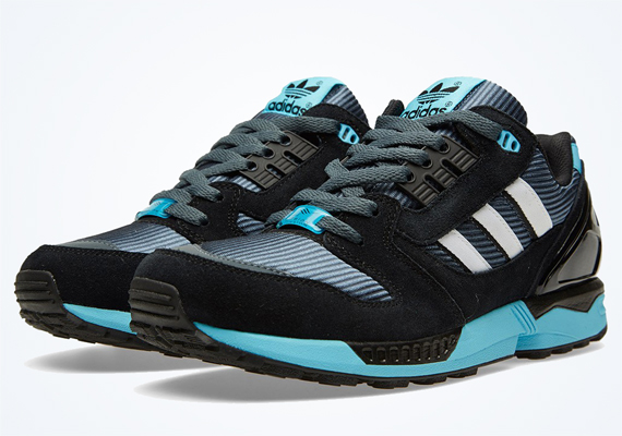 25 years ago, the adidas ZX 8000 was introduced to the masses. The quarter-century mark hasn't gone unnoticed by the three stripes as they released a 25th ...