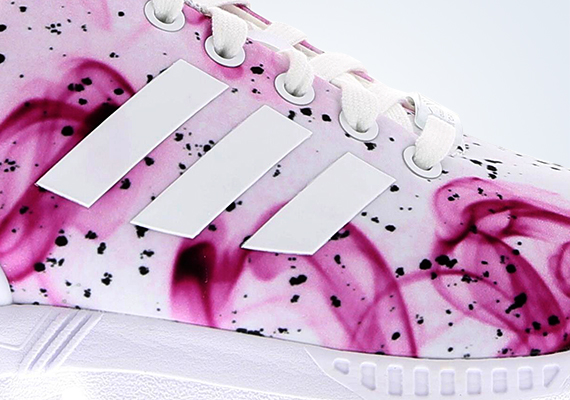 adidas zx flux smoke rose