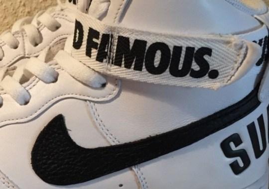 """Supreme x Nike Air Force 1 High """"20th Anniversary"""""""