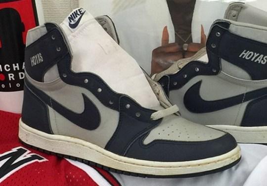 "Air Jordan 1 OG ""Hoyas"" from 1985"