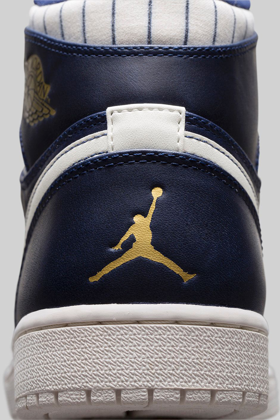 88f7394cd9ea Air Jordan 1 Retro Jeter Color  Midnight Navy Metallic Gold-Sail Style  Code  715854-402. Release Date  09 20 14. Price   140. show comments