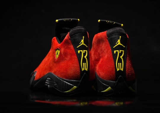"Air Jordan 14 ""Ferrari"" – Arriving at Retailers"