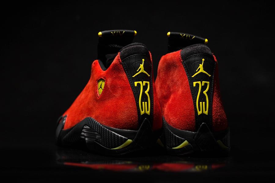 Air Jordan 14 Ferrari Arriving At Retailers Sneakernews Com