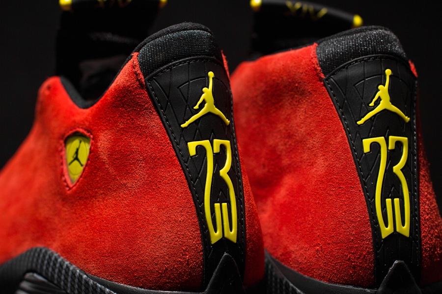 Nike Air Jordan 14 Rød Ferrari Pris Fabebbx