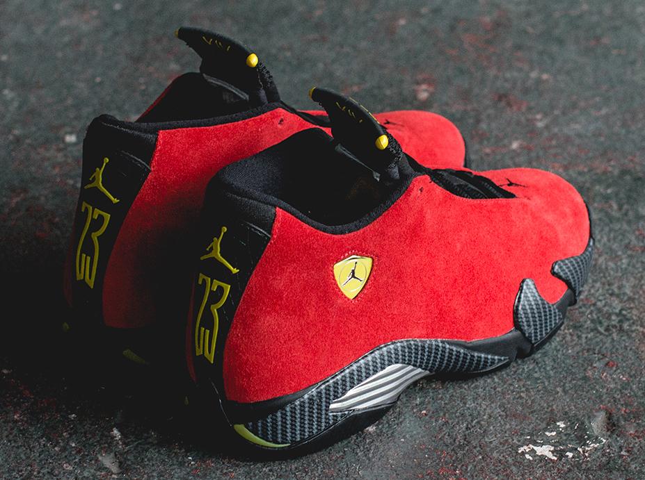 Air Jordan 14 U0026quot;Ferrariu0026quot; - Release Reminder - SneakerNews.com