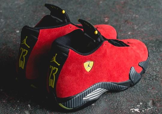 """Air Jordan 14 """"Ferrari"""" – Release Reminder"""