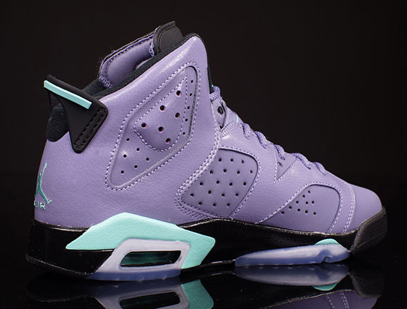 """The Air Jordan 6 GG """"Iron Purple"""" releases this weekend, September 6th. The  GG terms denotes not only Kids sizes, but for Girls specifically (as if the  ..."""