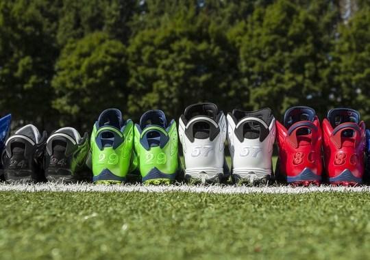 Air Jordan 6 PE Cleats for the 2014 NFL Season